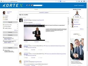 KORTEX: Point de ralliement entre les employés et les dirigeants